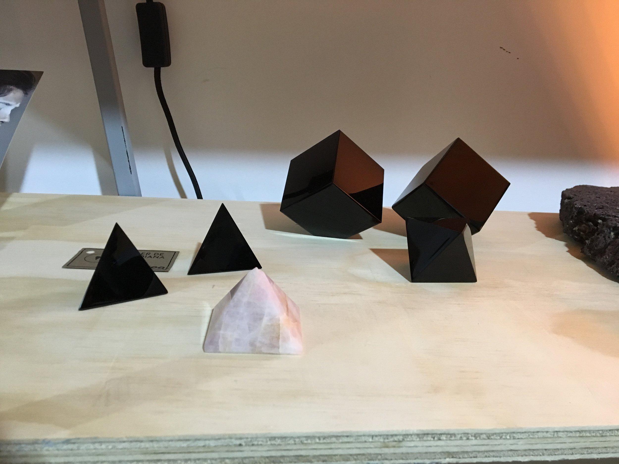 Objetos de diseño de Taller de Obsidiana