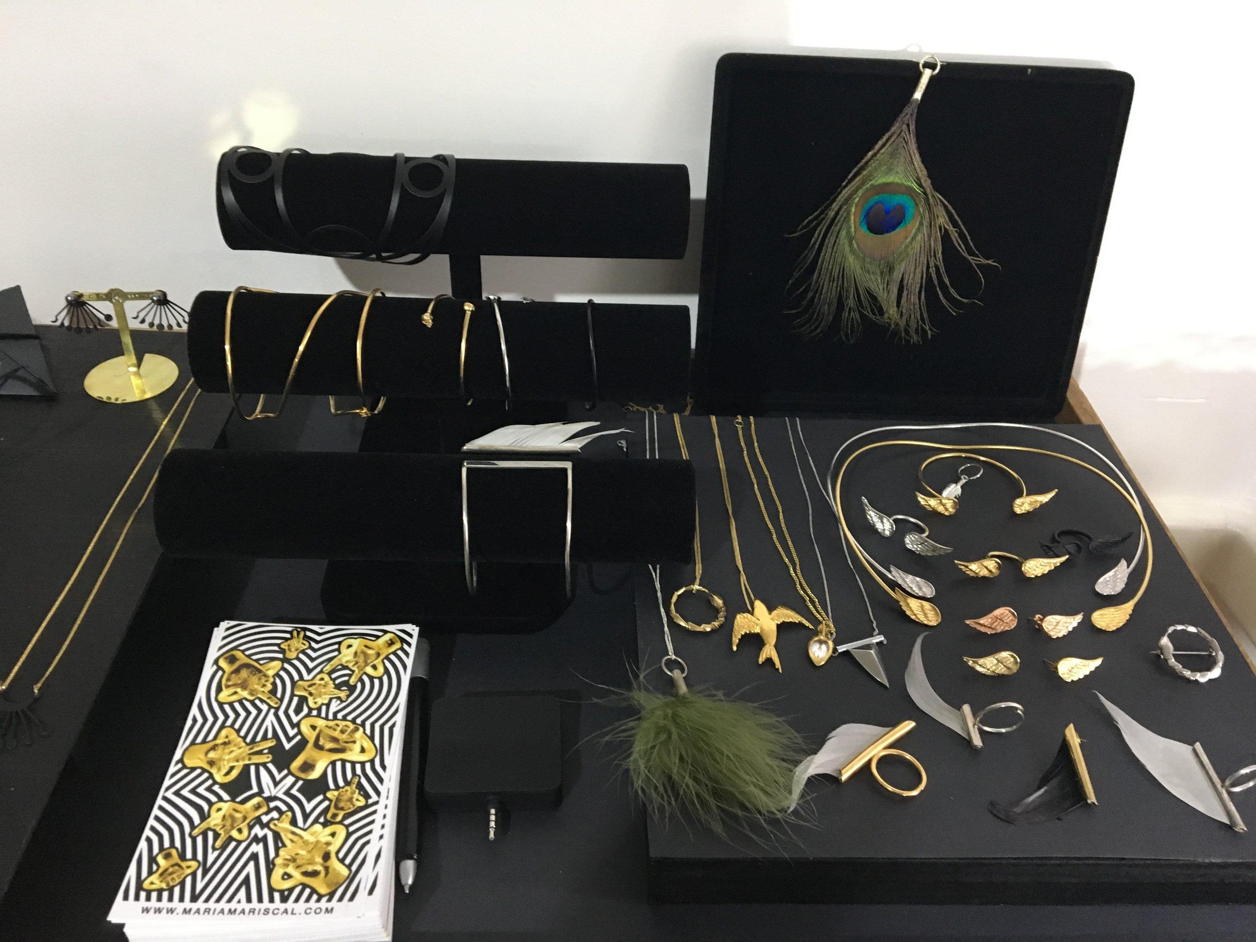 Piezas de joyería de Maria Mariscal