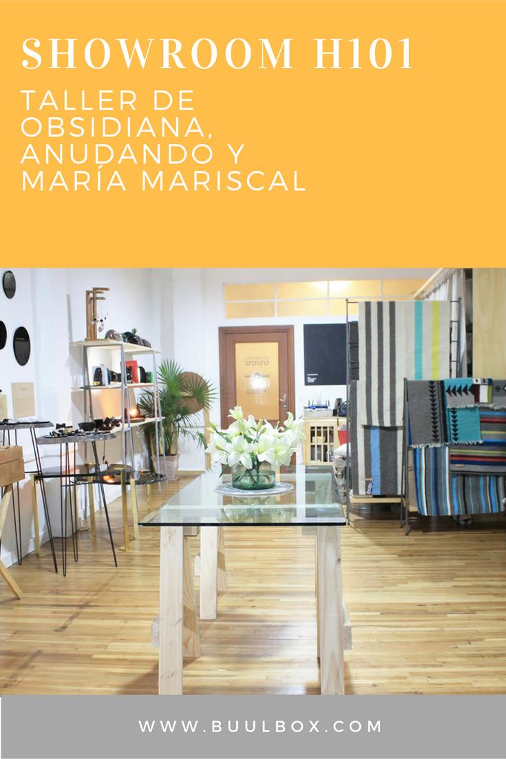SHOWROOM H101 DE TALLER DE OBSIDIANA, ANUDANDO Y MARIA MARISCAL