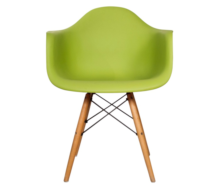 Silla Réplica Eames Armchair Verde