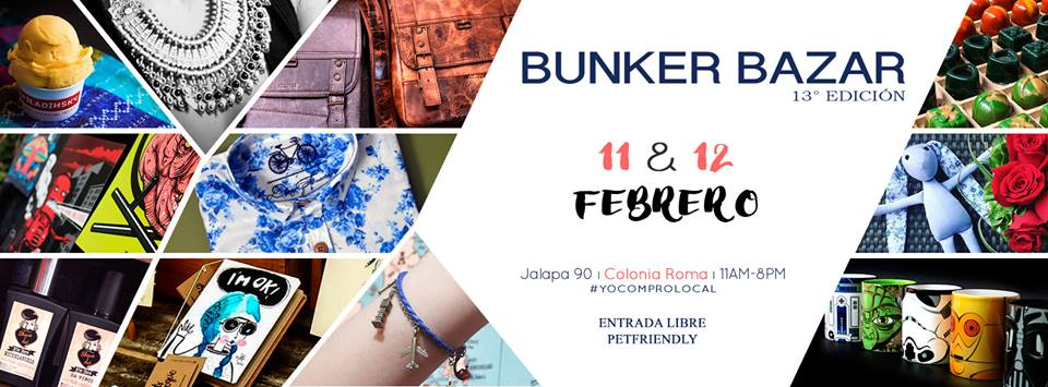 BUNKER BAZAR EN LA ROMA, CDMX