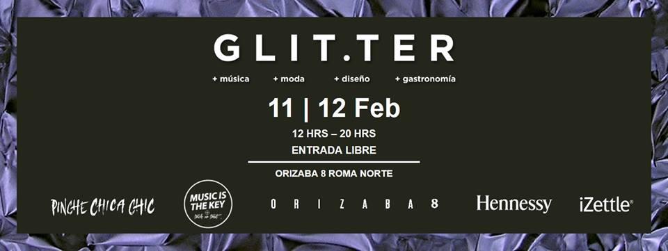 GLITTER BAZAR EN LA ROMA NORTE, CDMX