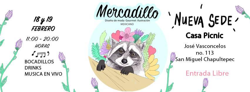 MERCADILLO BAZAR EN CASA PICNIC, SAN MIGUEL CHAPULTEPEC, CDMX