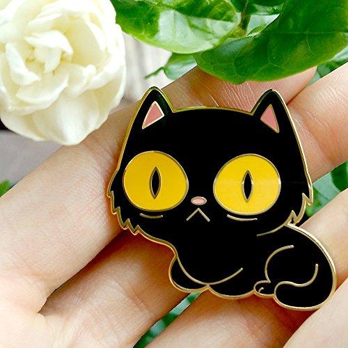Pin del Gato que Observa - $150 pesos