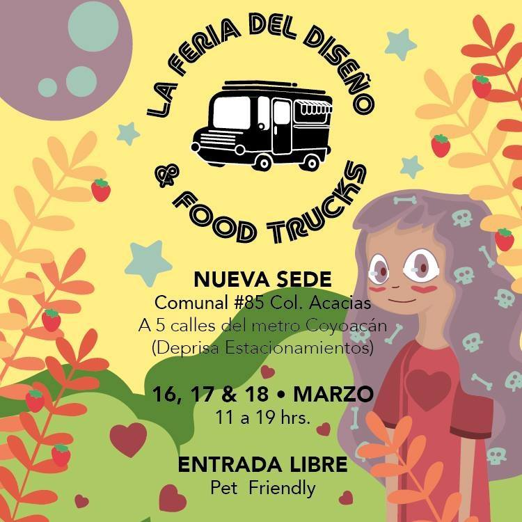 Cree y Crea México - La Feria del Diseño y Food Trucks