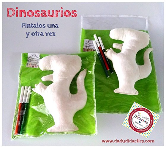 Dinosaurios para pintar - MXN $185