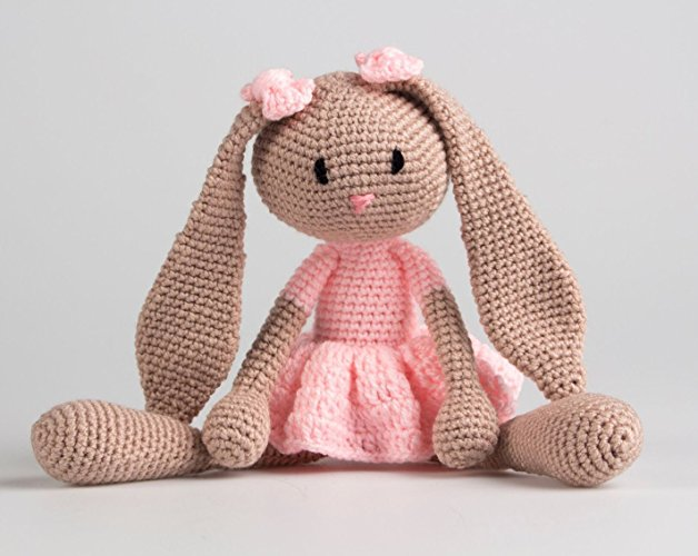 Coneja tejido crochet - MXN $450