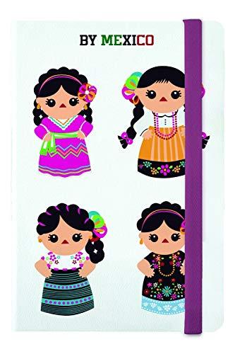Libreta Rayada 4 Indias Blanco - MXN $289.00