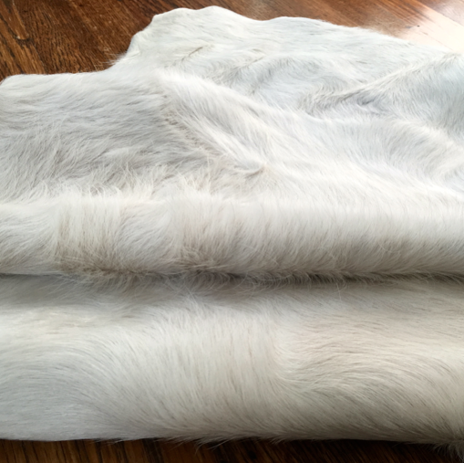 white cow hide for upholstery