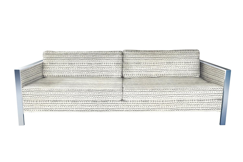 Reupholster a vintage Milo Baughman sofa San Francisco Bay Area and Los Angeles