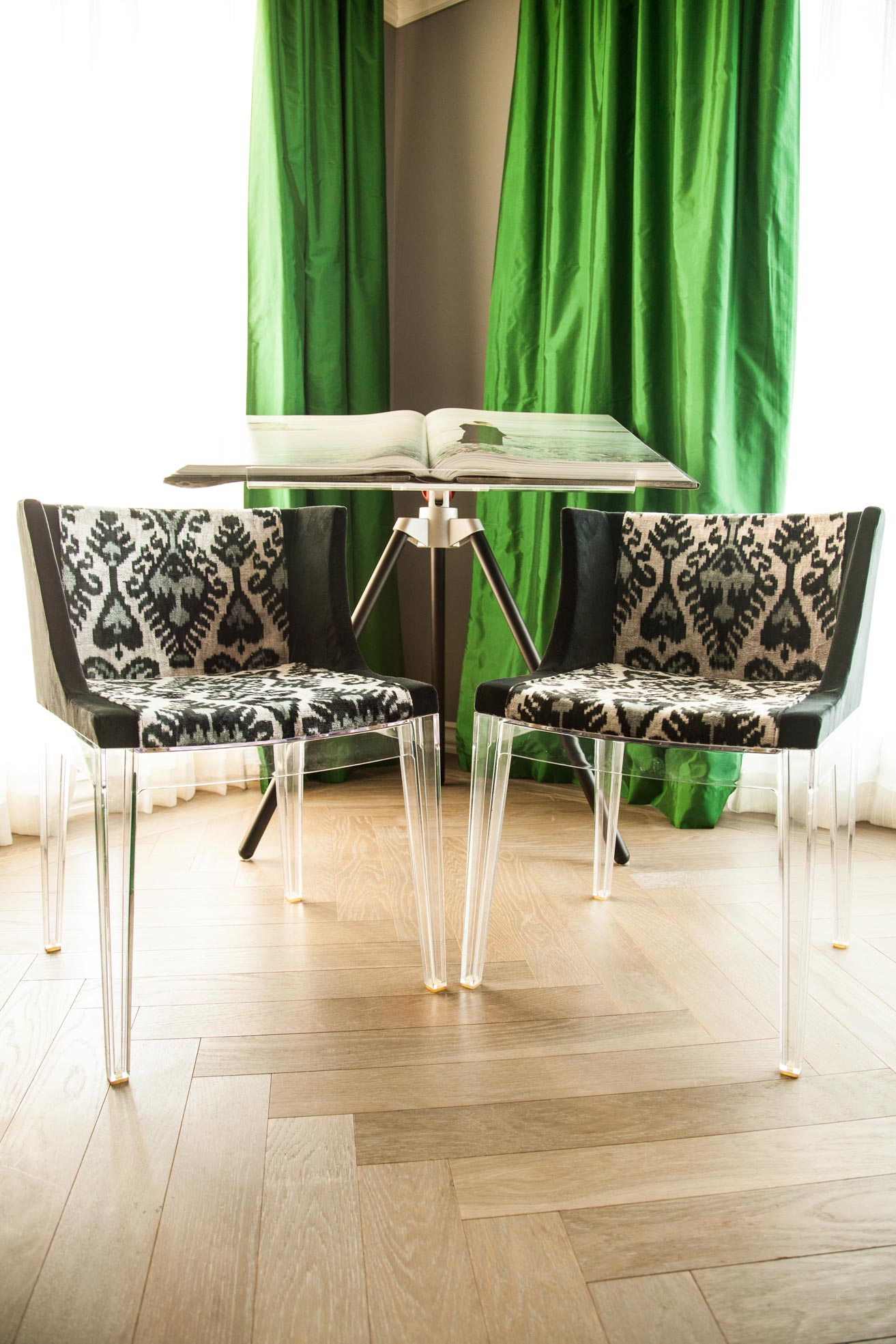 Kartell chair reupholstery San Francisco Bay Area and Los Angeles