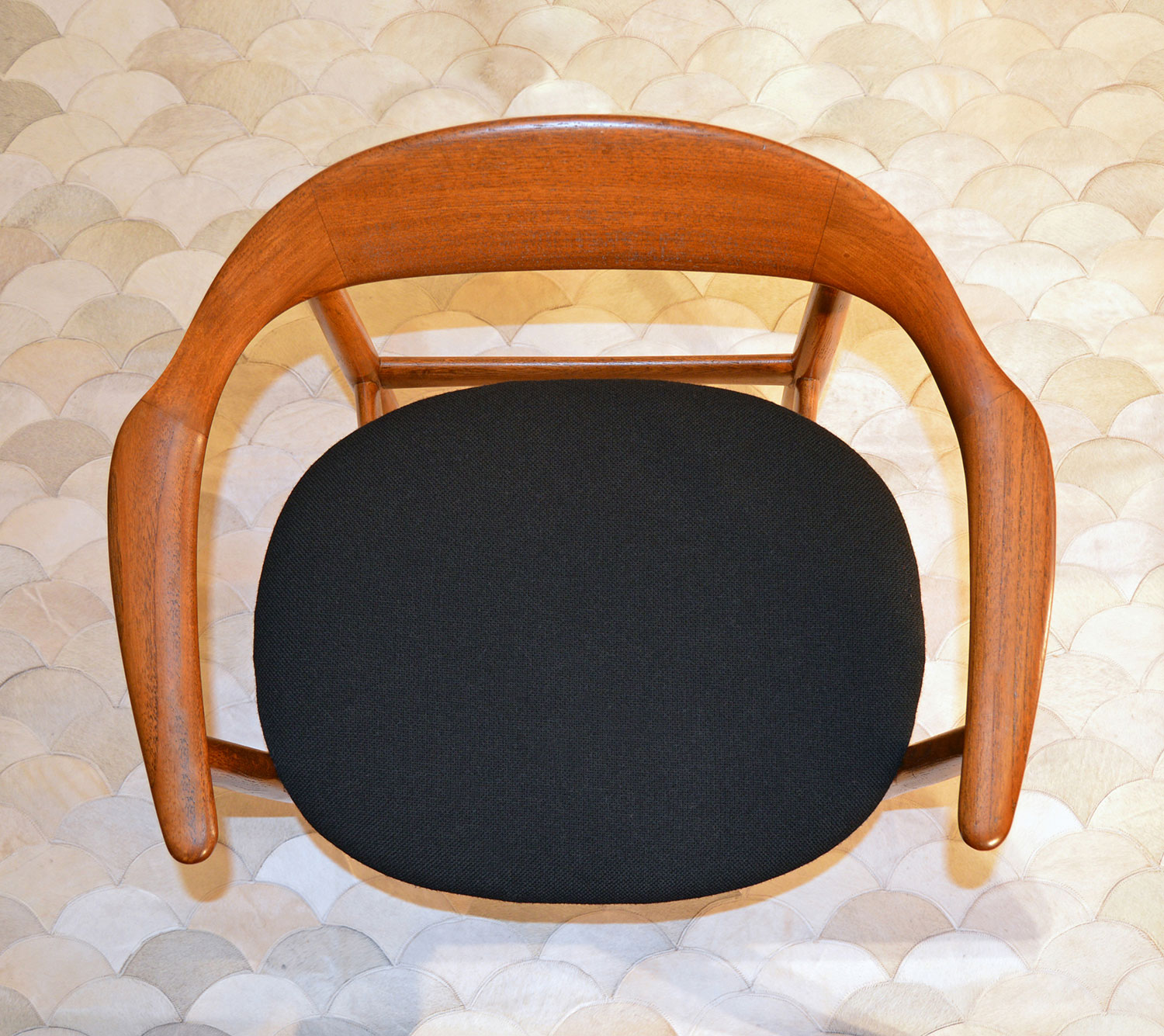 Danish mid century chair restoration San Francisco Bay Area and Los Angeles