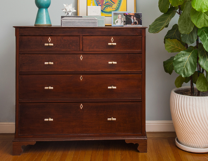 Refinishing an antique dresser San Francisco Bay Area and Los Angeles