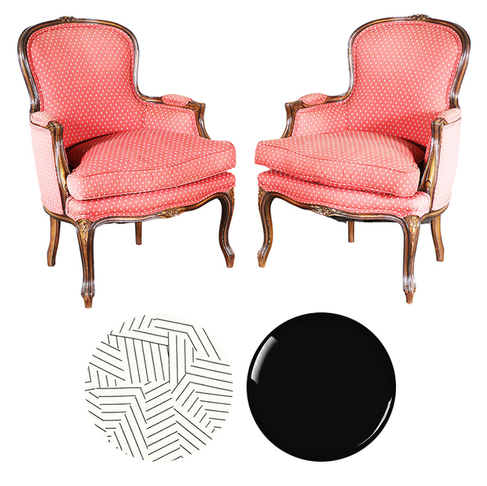 Restoring bergere chairs San Francisco Bay Area and Los Angeles