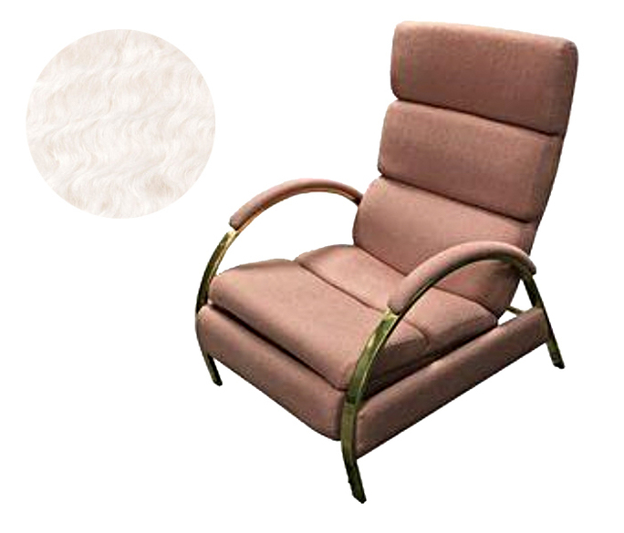 Reupholstering a Milo Baughman recliner San Francisco Bay Area and Los Angeles
