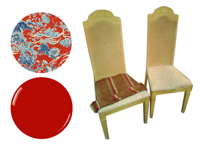 Restore vintage dining chairs San Francisco Bay Area and Los Angeles