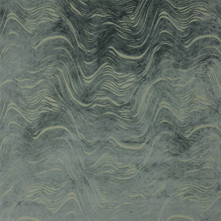 Designers Guild Aurelia upholstery fabric in graphite color
