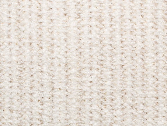 Holly Hunt First Tracks stain resistant upholstery fabric in Fresh Powder color