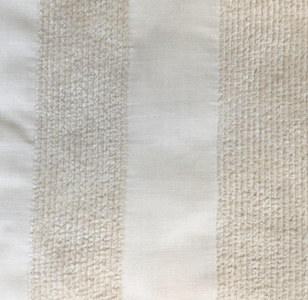 Chella Gondola stain resistant upholstery fabric in Alabaster color