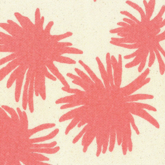Mum in Dahlia  | Upholstery fabric San Francisco Bay Area and Los Angeles