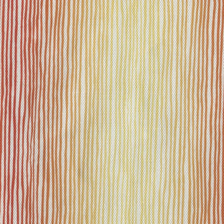 tiny stripe orange yellow ombre | Upholstery fabric San Francisco Bay Area and Los Angeles