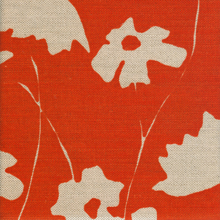 COSMOS PUMPKIN | Upholstery fabric San Francisco Bay Area and Los Angeles