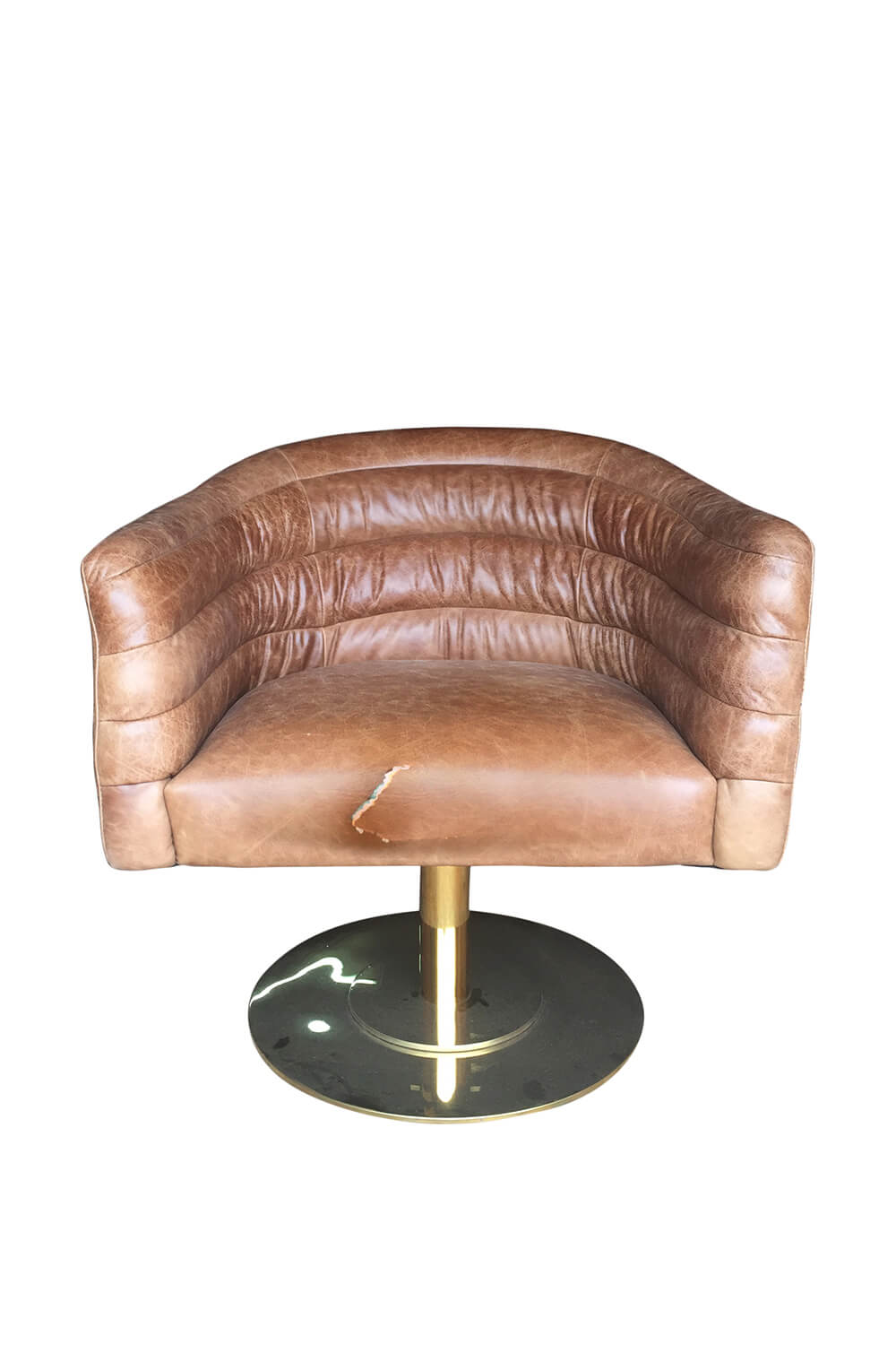 Vintage leather chair reupholstery San Francisco Bay Area and Los Angeles