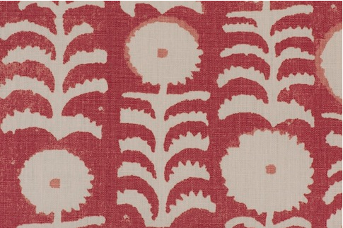 Penny Morrision Killi in Red  | Upholstery Fabric San Francisco Bay Area and Los Angeles