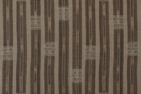 Penny Morrison Inca Vertical Stripe in Brown | Upholstery Fabric San Francisco Bay Area and Los Angeles