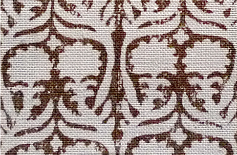 Penny Morrison  Ashok in Brown | Upholstery Fabric San Francisco Bay Area and Los Angeles