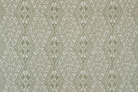 Penny Morrison Diamond Chunky in green | Upholstery Fabric San Francisco Bay Area and Los Angeles