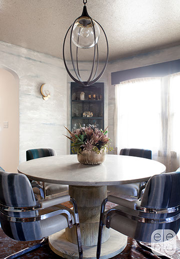 Reupholstered Milo Baughman dining chairs San Francisco Bay Area and Los Angeles