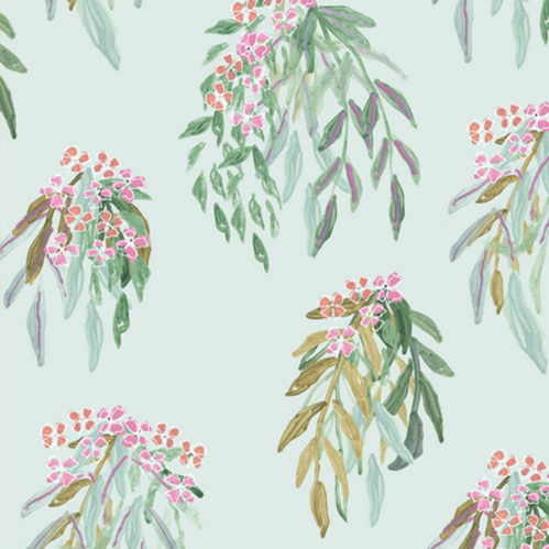 2. 'Lara' by Lulie Wallace - This botanical print is the perfect balance: cheery yet subtle, soft, sweet and unique.