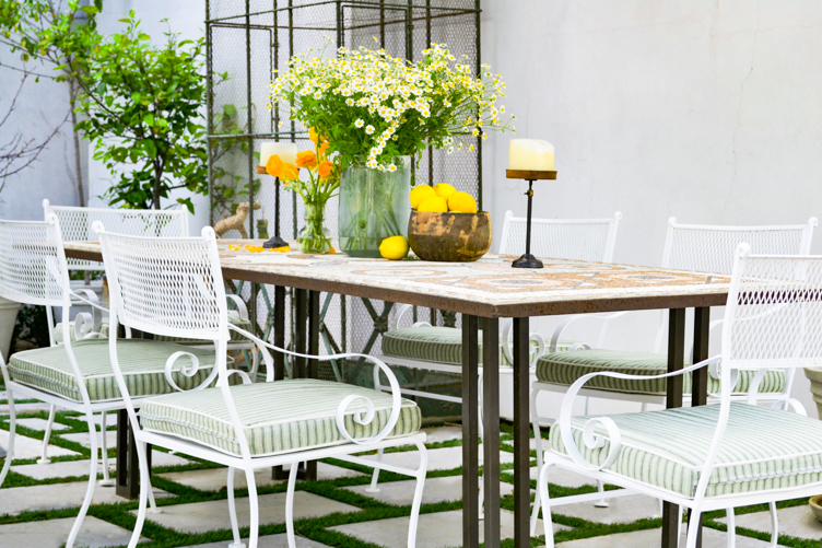 Outdoor cushion upholstery Los Angeles and San Francisco Bay Area