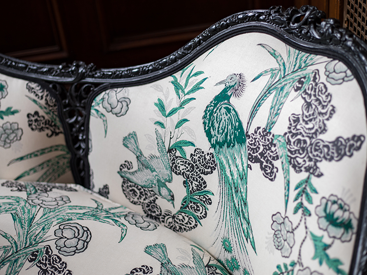 Antique furniture restoration and reupholstery San Francisco Bay Area