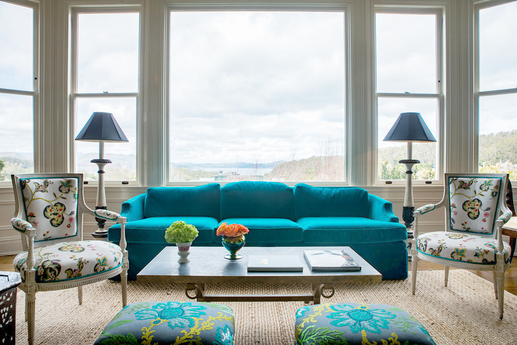 Vintage sofa reupholstery San Francisco Bay Area