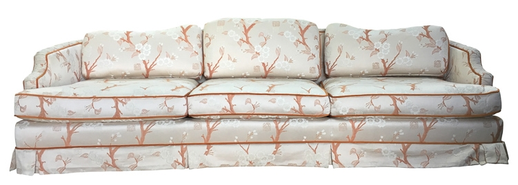 vintage sofa reupholstery San Francisco Bay Area and Los Angeles