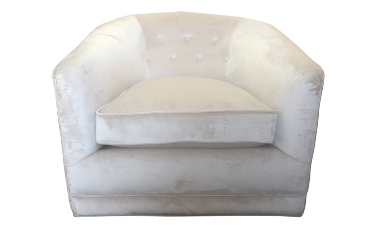 lounge chair upholstery San Francisco Bay Area and Los Angeles