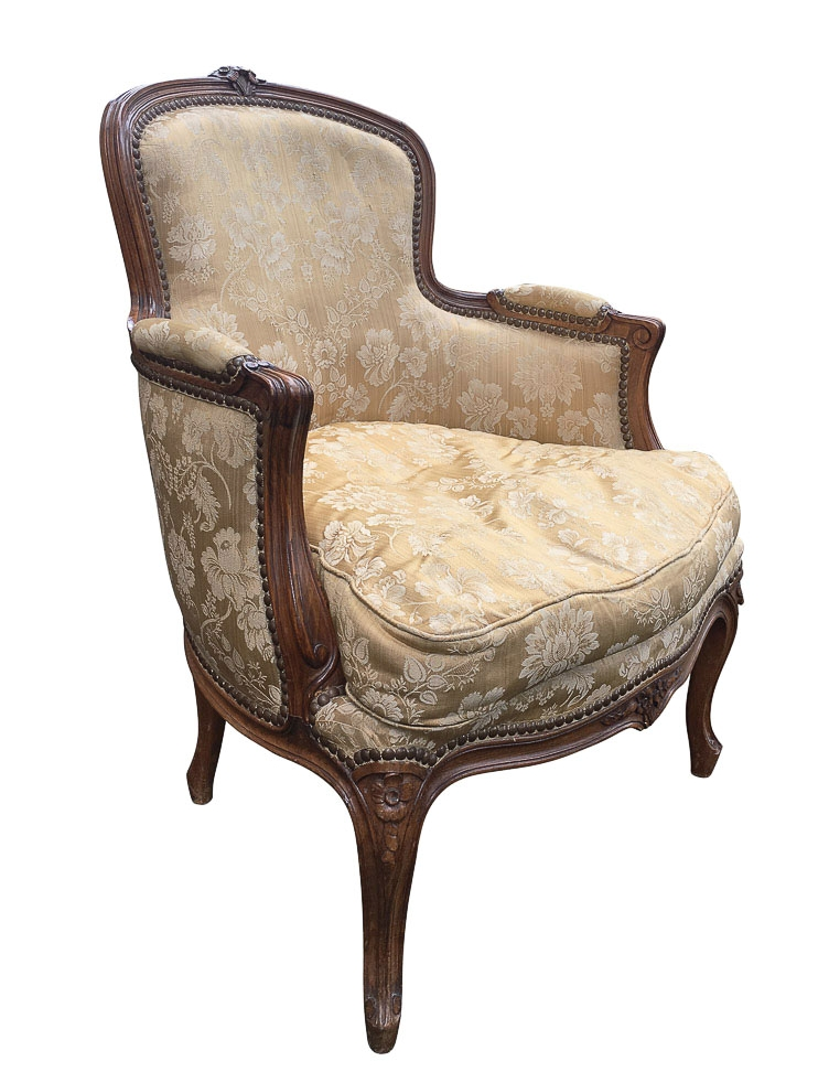 Heirloom Bergère Chairs restoration San Francisco Bay Area and Los Angeles