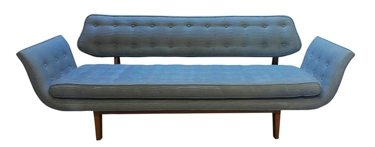 Reupholstering a Edward Wormley Gondola Sofa | Revitaliste