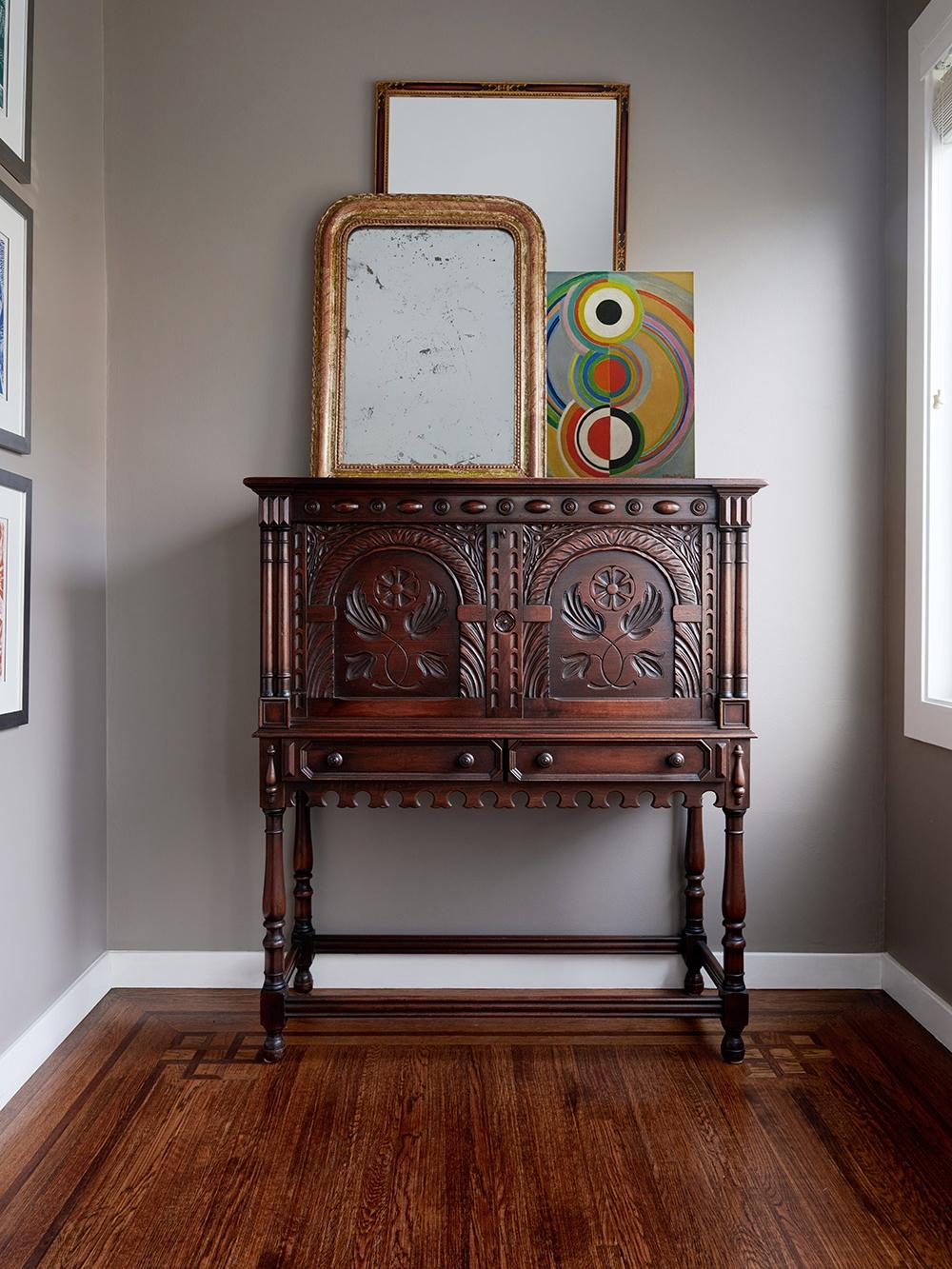 Refinish Antique mahogany Desk San Francisco Bay Area and Los Angeles