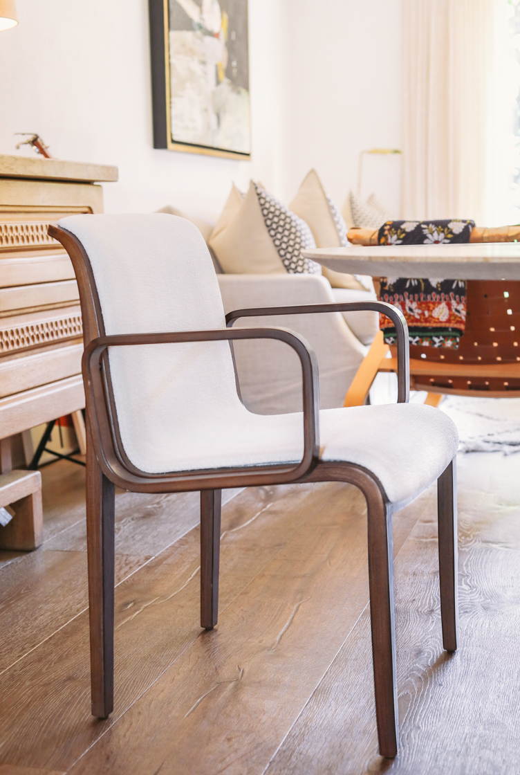 Restored vintage Knoll Chair | Upholstery San Francisco Bay Area and Los Angeles