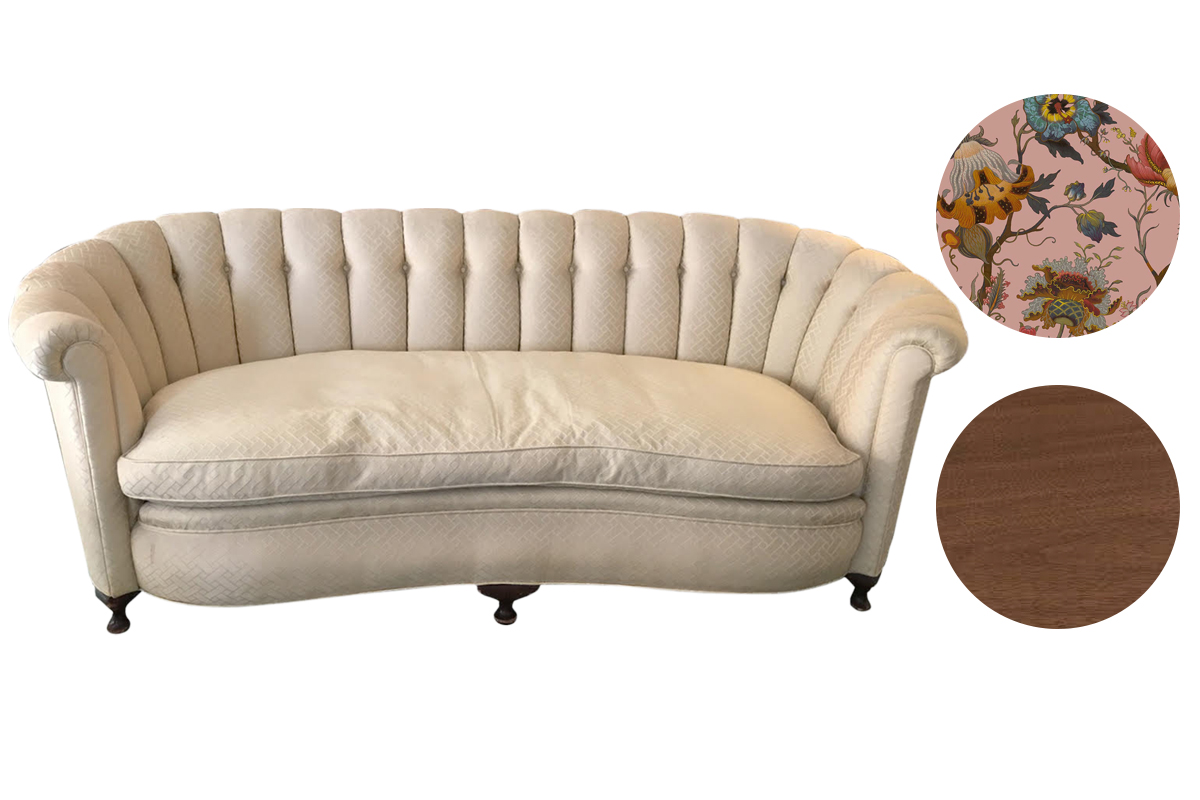 Ideas for restoring an antique sofa | upholstery services Los Angeles