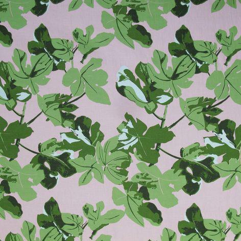 """""""Fig Leaf"""" original on pink"""