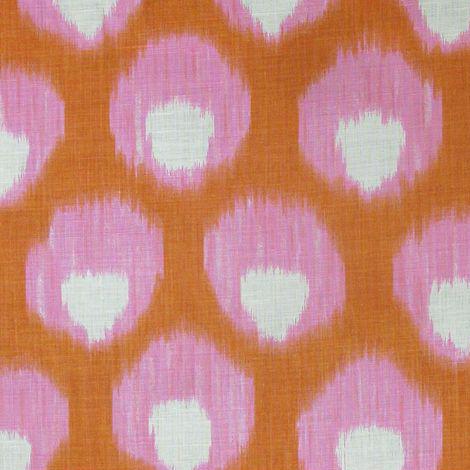 """Bukhara"" in pink + orange"