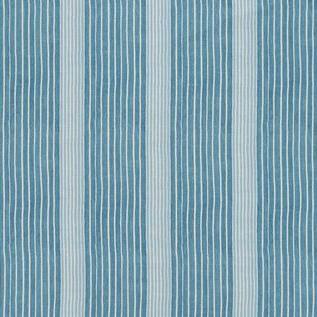 "Clay McLaurin Studio ""Mediterranean Stripe"" in Denim"