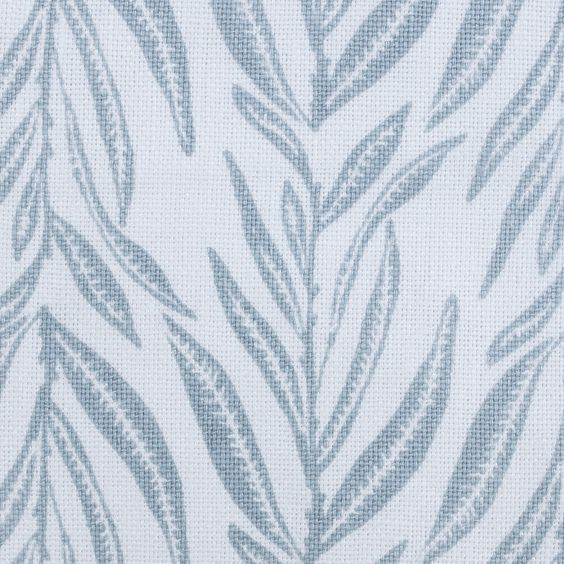 """Block and Brayer """"Leaves"""" in French Blue"""