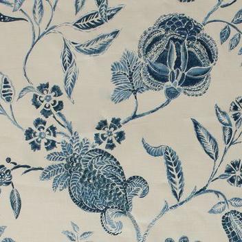 "Carolina Irving Textiles ""Calico"" in Blue"