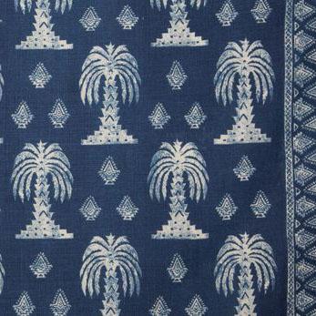 "Lisa Fine Textiles ""Mandalay"" in Indigo"