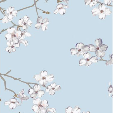 """Nine Muses """"Dogwood"""" in White Cloud"""